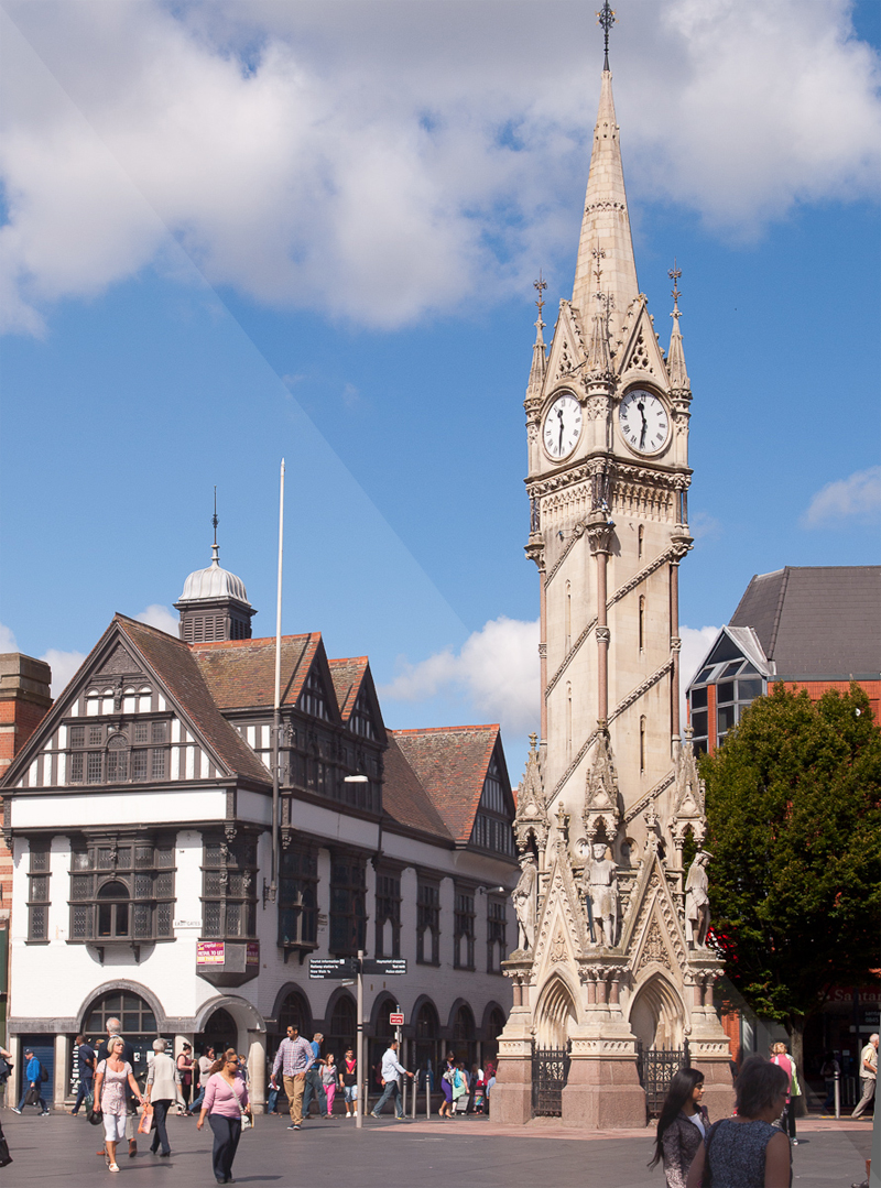 Clock Tower Leicester City Centre locksmith